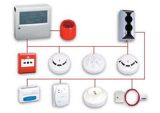 Где установить пожарную сигнализацию?