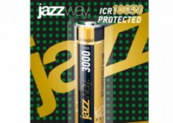 Аккумулятор Jazzway 18650 3000 мАч с защитой BL-1