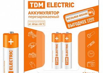 Аккумулятор TDM AAA-1000 mAh Ni-MH BP-2
